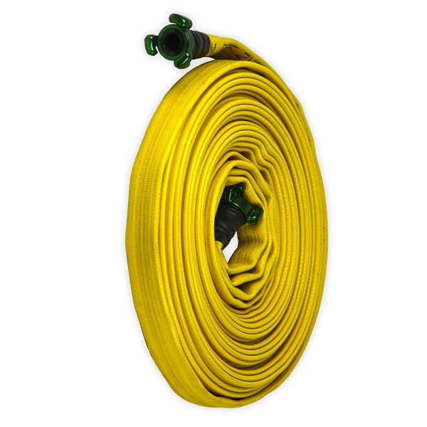 Firefighter Hose of 25mm. with couplings. (20 meters ...