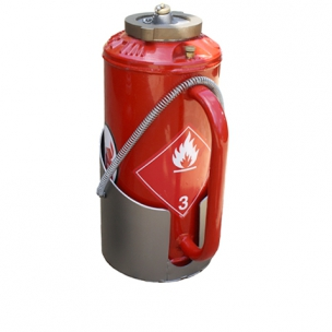 Drip torch support of 5 liters