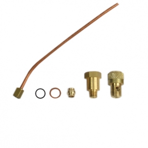 DT1L Brass Biconic Component + DT1L Brass Tube Connector + DT1L Brass Air Cover + DTL1 Brass Air Cover Connector