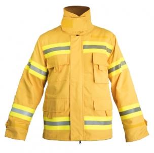 Giacca ignifuga a due strati per l'Antincendio