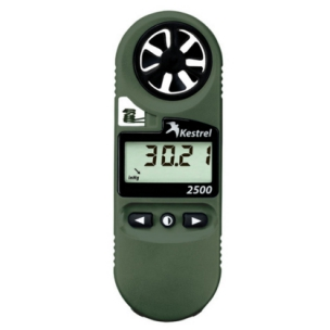 Kestrel 2500 Pocket Wind Meter Night Vision